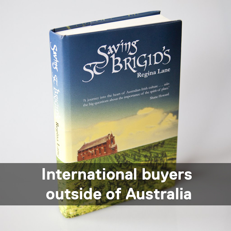 Saving St Brigids Book international buyers